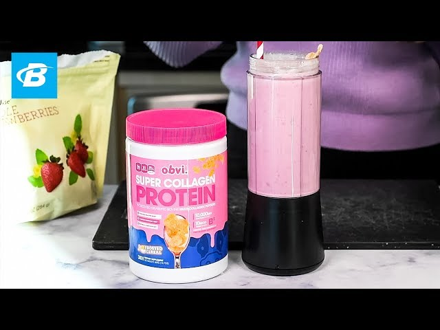 Frosted Smoothie Recipe | Obvi Super Collagen Protein
