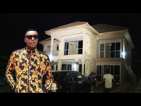 Jose Chameleone unveils new incomplete mansion. Akoze akabaga