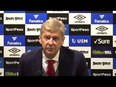 Wenger Press Conference   Everton 2-5 Arsenal 22/10/2017