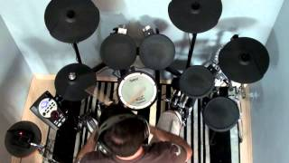 AC/DC - You Shook Me All Night Long - drum cover by Myke Ramos