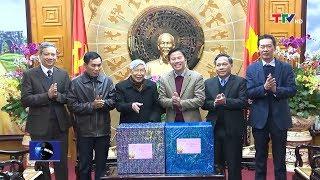 (TTV) Nguyên Tổng Bí thư Lê Khả Phiêu chúc tết tỉnh Thanh Hoá