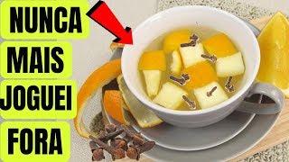 Segredo do chá de Casca de Laranja com Cravo