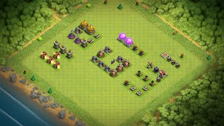 Clash of clans-th7 best attack strategy (giwiho)step by step guide