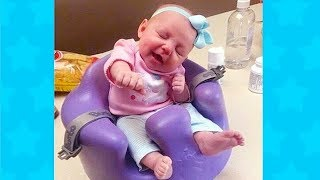 BEST FUNNY SLEEPING BABY WAKE UP REACTION | Funny Babies Videos Compilation