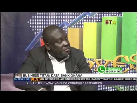 Kojo Addae Mensah Manager Of Data Bank On Business Africa Live 1