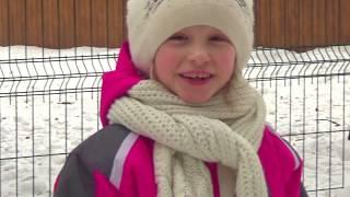 По снегу на банане  или Милана с мамой поехали праздновать масленицу и провожать зиму