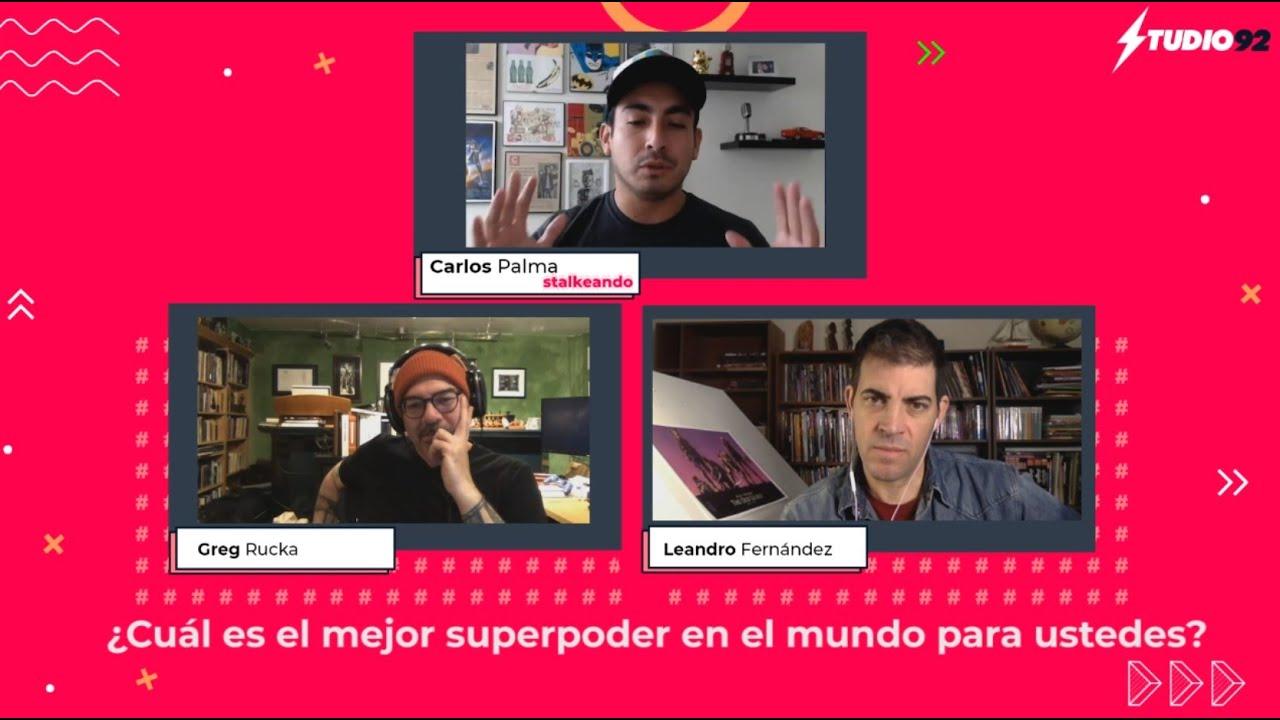 La Vieja Guardia | ¿Qué superpoder prefieren Greg Rucka y Leandro Fernandez?