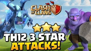 Check out some TH12 3 Stars!! *Clash of Clans* Town Hall 12 Attack Strategy!