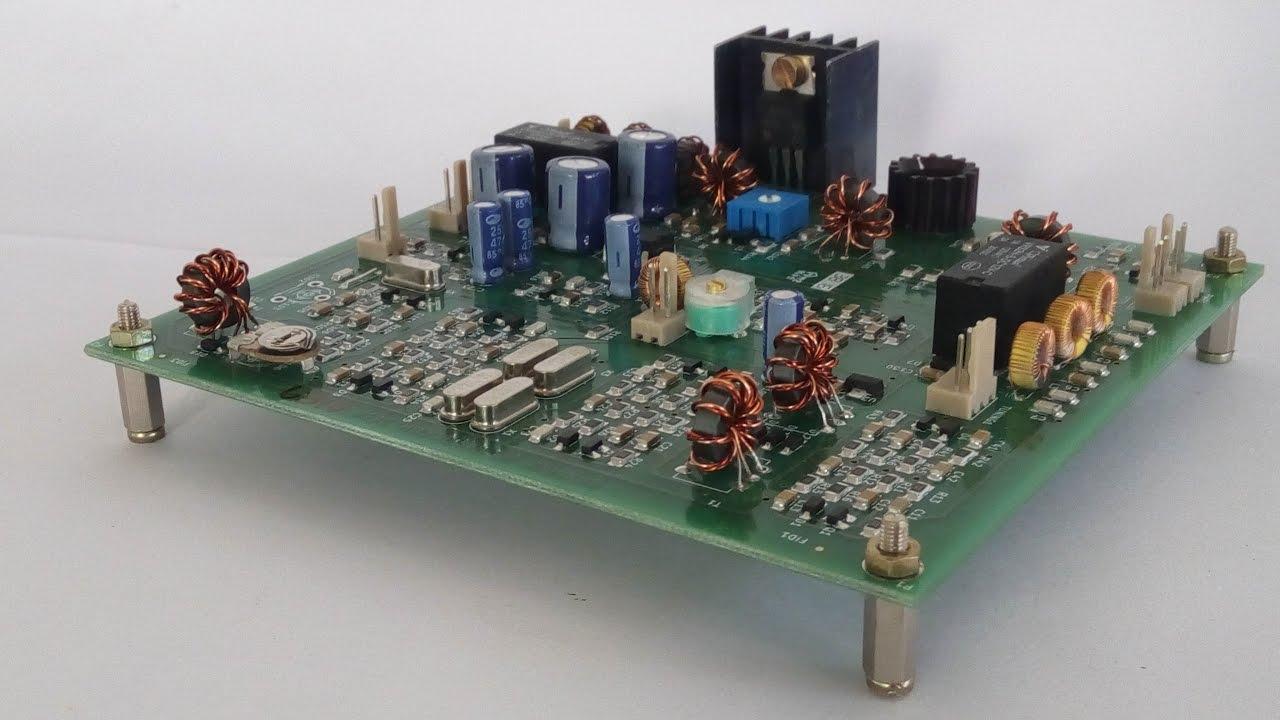 BITX40 first attempt with Arduino DDS VFO