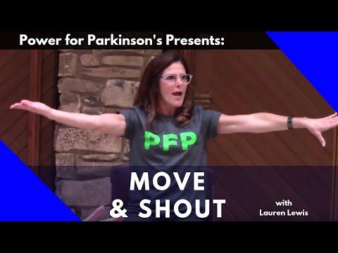 POWER FOR PARKINSON'S  MOVE & SHOUT CLASS, Full Length Class