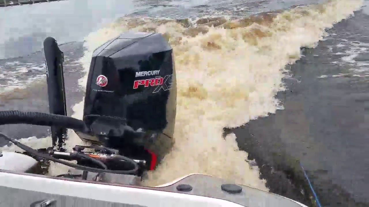 Mercury 300 Pro XS V8 four-stroke on 202 Blazer Bass boat