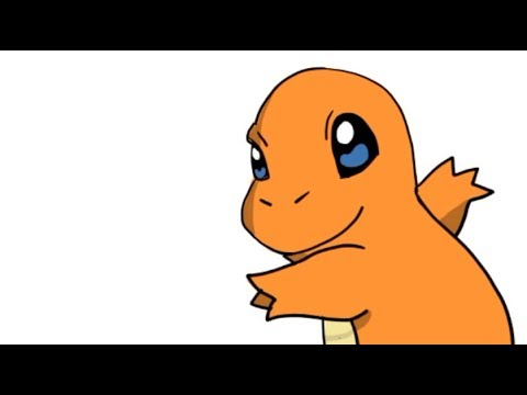 Como Desenhar O Charmander Pokemon Youtube