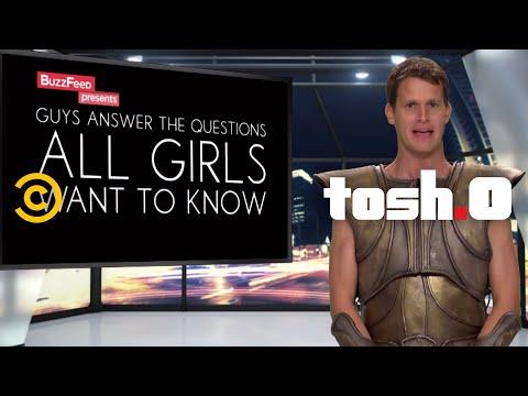 Tosh.0 - Girls Ask Daniel Questions