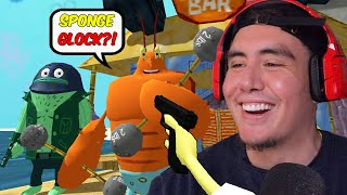 I PROMISE YOU DONT WANT SMOKE WITH SPONGEGLOCK SQUARE UP PANTS | Free Random Games