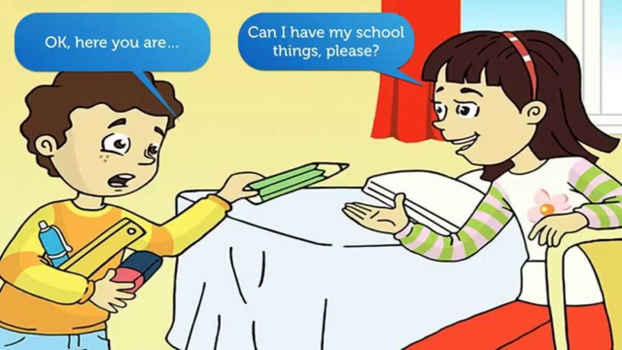 Tiếng Anh Trẻ em lớp 1. Bài 1: Cái gì đây?