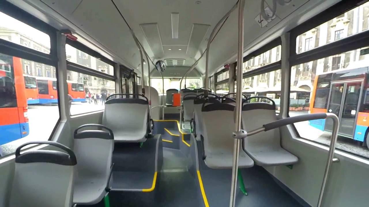 Amt catania nuovi autobus man lion 39 s city trucck dall for Interno autobus