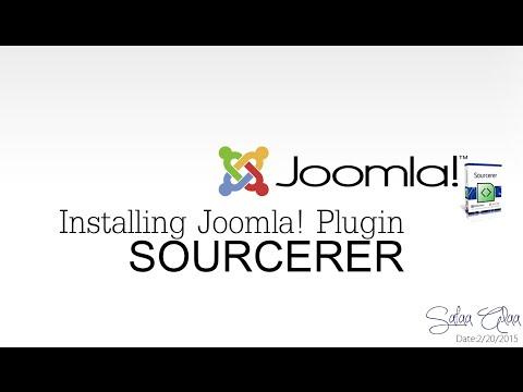 Sourcerer Joomla! Plugin Installing & Working With It