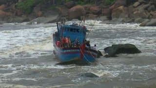 Các tỉnh, TP ven biển từ Quảng Ninh - Cà Mau chủ động ứng phó với gió mạnh, sóng lớn trên biển