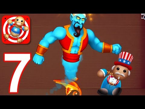 Kick the Buddy - Gameplay Walkthrough Part 7 - All Power of Gods Weapons (iOS)
