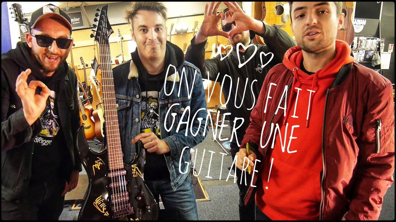 Les 3 Fromages - On vous offre une guitare LÂG ! (Financement 5ème album)