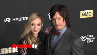 """The Walking Dead"" CAST 4th Season Premiere Red Carpet Arrivals"