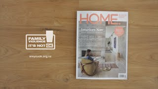 Family Violence can happen in ANY HOME - It's not OK campaign New Zealand