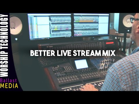 Live Streaming Your Church Service - Part 3 Audio