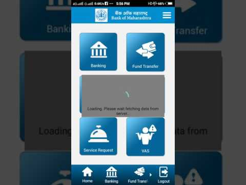 How to Net banking with bank of Maharashtra.