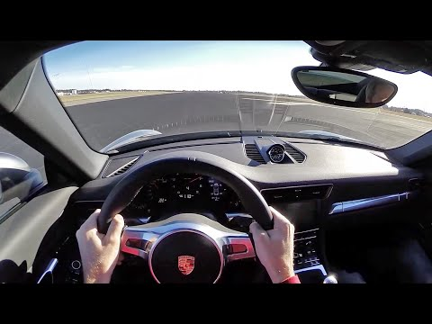 2014 Porsche 911 Carrera 7MT WR TV POV Airfield Test