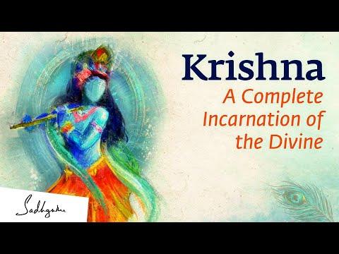Krishna: A Complete Incarnation of the Divine – Sadhguru