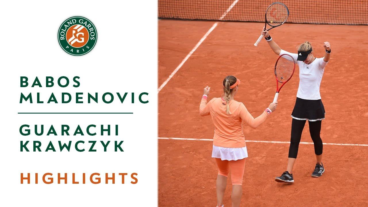 Alex Guarachi in Doubles Finals Match at Roland-Garros 2020