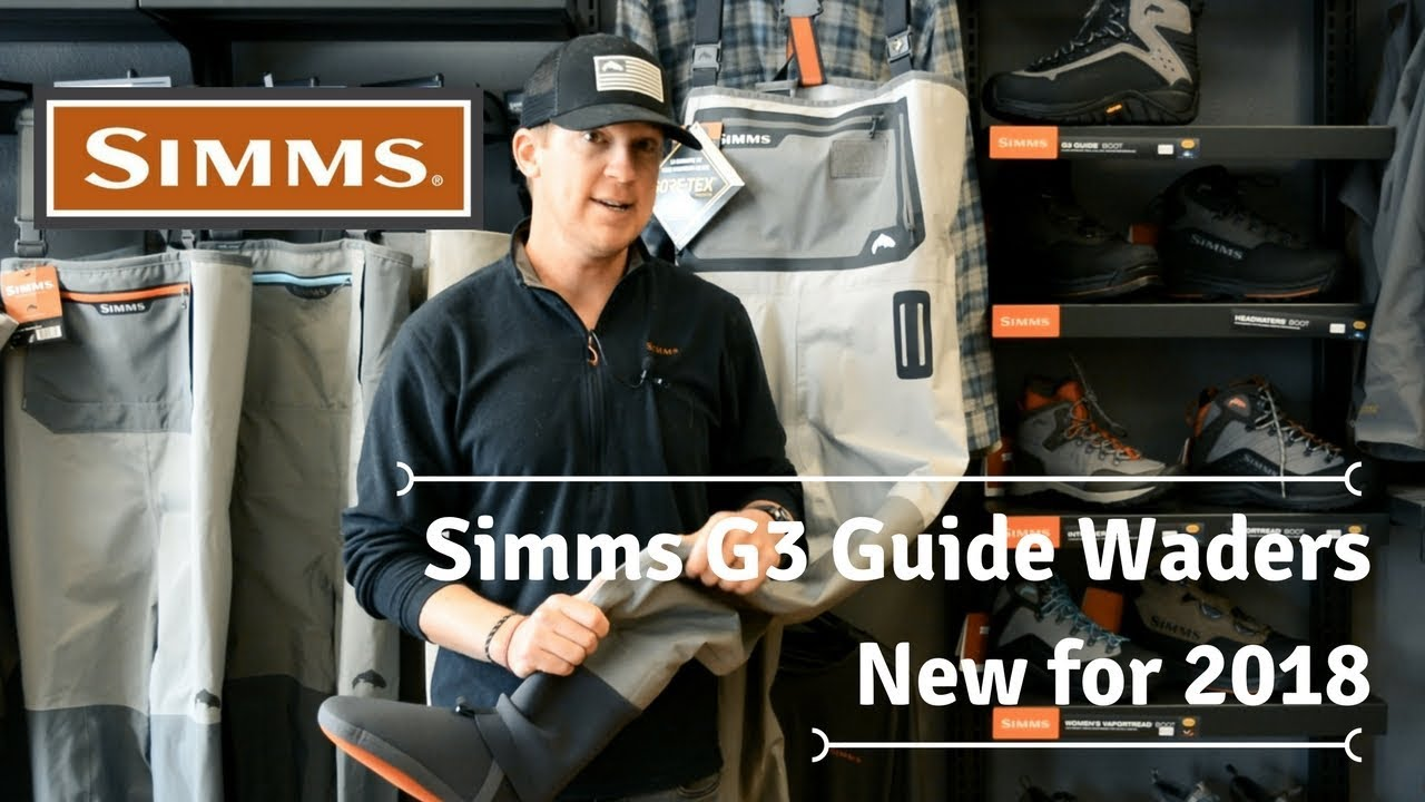 Trouts fly fishing: simms g3 stockingfoot wader review youtube.