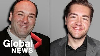 James Gandolfini's son to play 'Tony Soprano' in prequel movie