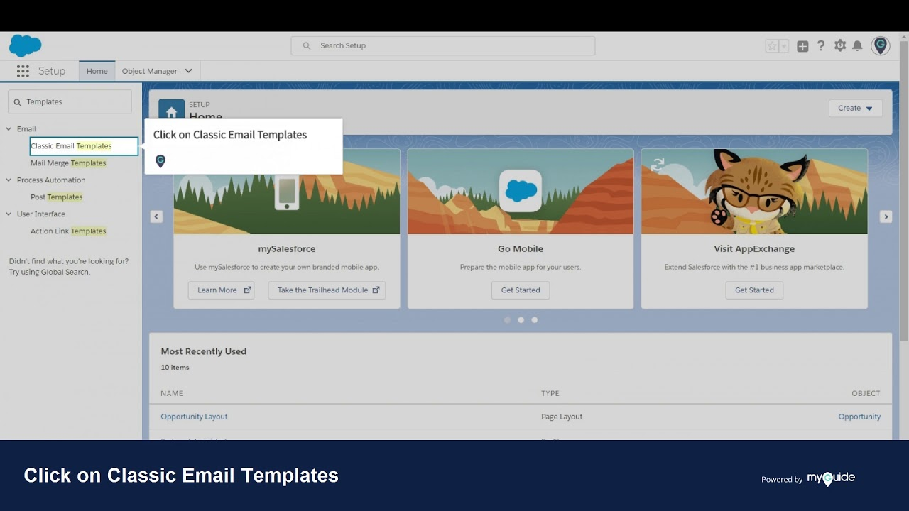 How To Create New Template Folder In Salesforce Lightning Youtube
