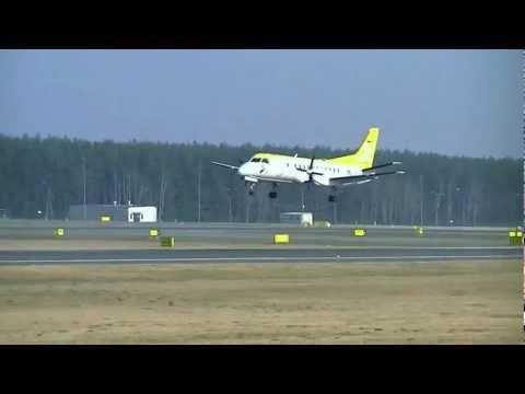 EPGD - Saab 340A (SkyTaxi) landing