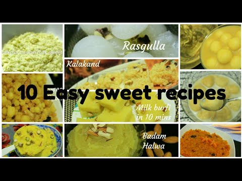 Diwali sweets recipe - 10 Easy diwali sweet recipes - Diwali sweets - Indian sweets