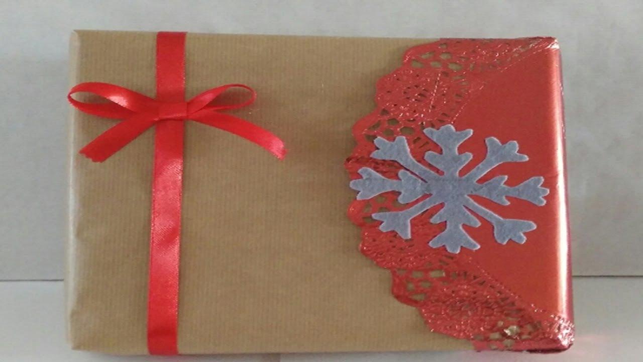 como envolver regalos para navidad tutorial diy as wrapping gifts for christmas
