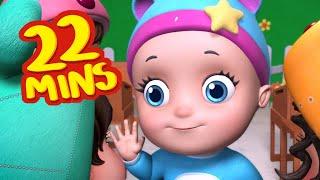 Hello! Hello! Hi, hi Song | Rhymes for Children | Infobells