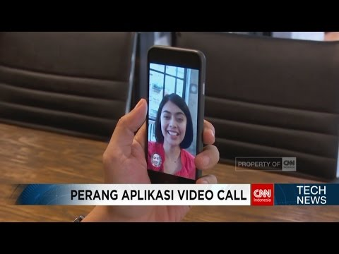Perang Aplikasi Video Call