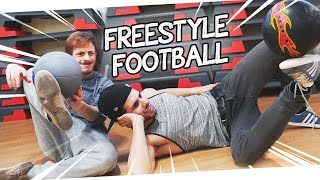 J'AFFRONTE UN CHAMPION DE FOOTBALL FREESTYLE!