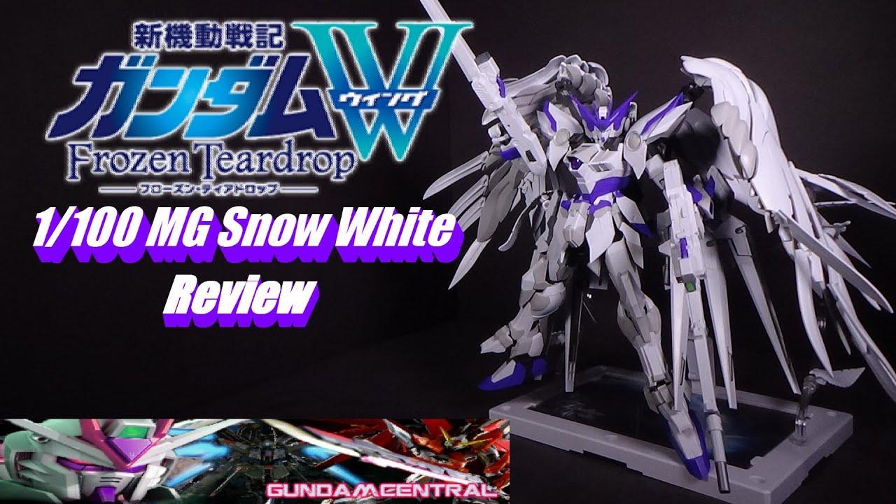Download 1/100 MG Wing Zero Custom Purple (Snow White) Review