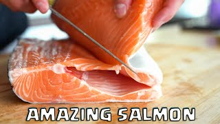 BREAKING DOWN AND COOKING SALMON