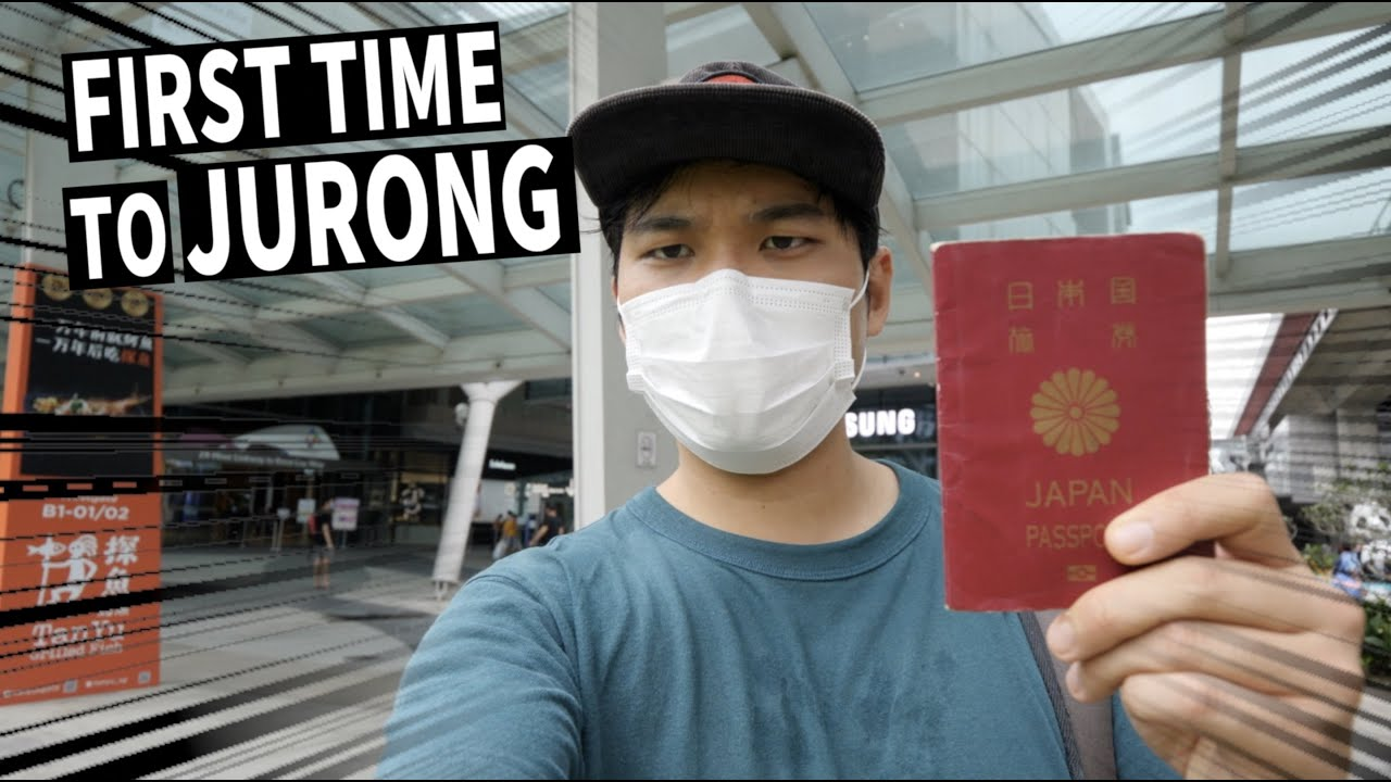 I Brought My Passport To Come Here! Jurong Expedition🇸🇬