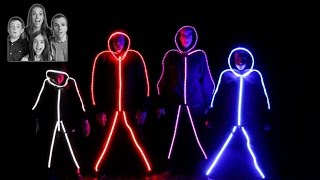 GLOW IN THE DARK FAMILY!!