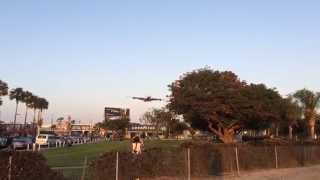 FIRST!! BRITISH AIRWAYS A380 LANDING IN LOS ANGELES (LAX) G-XLEE