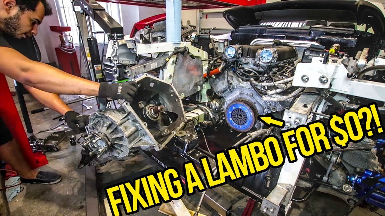 I Fixed My Lamborghini S 5 000 Clutch For Free Because Can T Afford A New One