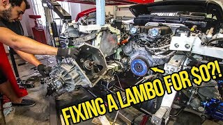 I Fixed My Cheap Lamborghini's $5,000 Clutch For FREE (Because I Can't Afford A New One)