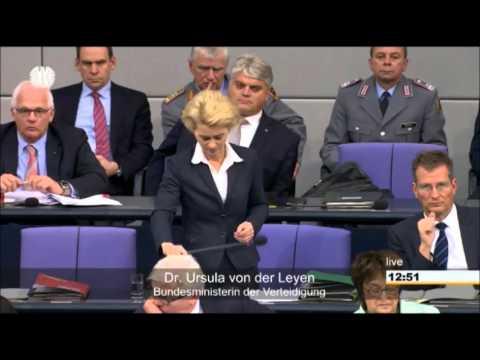 Kriegseinsatz in Syrien: Befragung von Steinmeier und von der Leyen im Bundestag