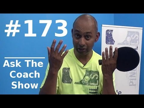 Ask the Coach Show #173 - Kenta's Forehand Sidespin Block