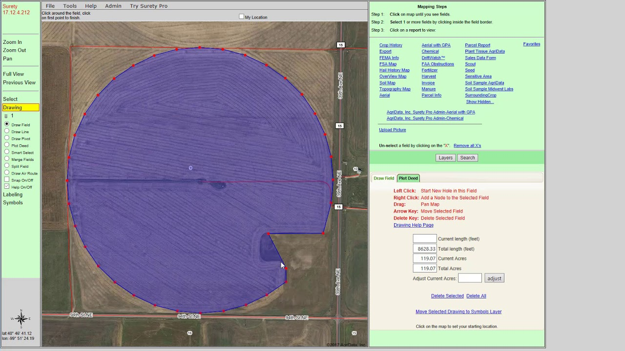 Surety® Customized Online Mapping - Land Valuation and Work ... on